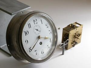 Britain SEWILL ship clock ( quartz / machine )Φ21cmsmoseko enamel face brass nickel chamfer glass / Vintage clock wall clock