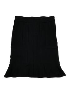 DKNY ダナキャラン ニューヨーク Donna Karan ウールストレッチ マーメイド スカート ブラック 4 黒 new york
