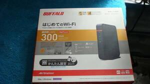 BUFFALO 300Mbps 無線LAN親機 WHR-300HP2 美品 送料無料