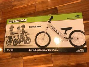 新品 ストライダー プロ バランスバイク プロ限定色 ST-Rも