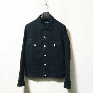 #niko and ...|ニコアンド ストレッチ入り加工デニムジャケット ブラックカラー sizeM