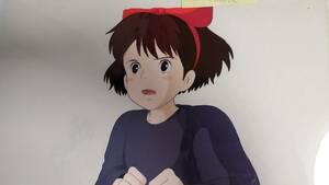 魔女の宅急便 キキ セル画(裏に動画貼り付き) スタジオジブリ