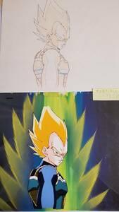 Dragon Ball Z super носорог ya человек Vegeta цифровая картинка . анимация