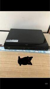 現状品 SHARP/シャープ「BD-HDW25」地上/CS/BS ブルーレイレコーダー B-Casカード付