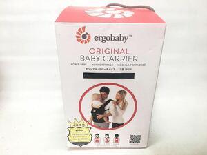 ★ エルゴベビー オリジナル ベビーキャリア ergobaby ORIGINAL BABY CARRIER 抱っこ紐 おんぶ紐 対面抱き 背負い 腰抱き ブラック
