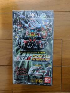 スーパーロボット大戦スクランブルギャザー α-1 カードダスマスターズG トレーディングカードゲーム 1箱15パック入り(1パック10枚入)