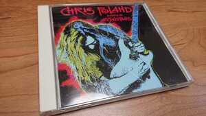 Chris Poland / クリス・ポーランド Return to Metalopolis 国内盤 帯なし ステッカー付き Megadeth,Damn The Machine