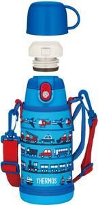 新品 送料無料 水筒 サーモス FJA-600WF LB 真空断熱2ウェイボトル 600ml/620ml ライト ブルー THERMOS さーもす コップ ストロー 青