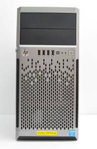 HP ミニタワーサーバ StoreEasy 1540 Xeon Core i3-4130 3.4GHz/メモリ12GB/500GB×3 RAID構成済/Windows storage server 2012 R2済