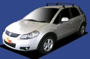 〓スズキ SX4(車両型式 YA/YB11S/41S/年式H18.7-H26.11)ルーフレール無車用 システムキャリアBF4B1《業販専用品》