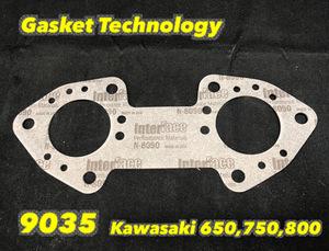 Gasket-Technolgy《9035》KAWASAKI 650/750/800 ハイフロータイプ エキゾーストマニホールドガスケット 800SX-R 800X-2 650X-2 750SX