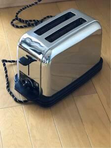 ★昭和レトロ サンヨートースター SK-R2メッキ SANYO OLD FASHIONED STYLE★