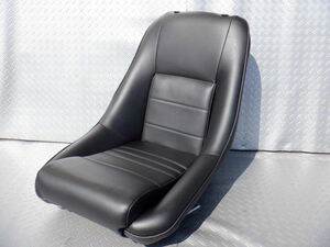 unused stock have COBRA Cobra CLASSIC Classic RS leather full backet seat bottom cease type Logo less head rest lack