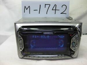 M-1742.KENWOOD. Kenwood .DPX-510.2D размер .CD& кассетная дека . неисправность товар .