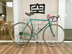 ビアンキ レコード Bianchi Rekord 748 緑 70's ロードバイク 52mm- 美品
