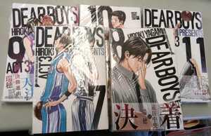 DEAR BOYS 八神ひろあき 7-8-9-10-11巻 5冊 中古品の商品画像