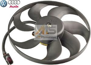 【M's】アウディ TT/TTS/TTRS 純正OEM ラジエーター 電動ファン (345mm)//AUDI アディショナルファン ブロアファン 6X0959455C