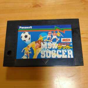 即決! 動作確認済み MSX パナソフトのサッカー Panasoft サッカー