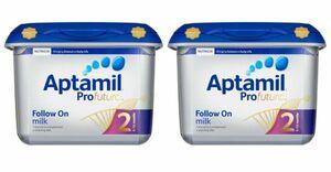 【800g 2個セット・6ヵ月から】Aptamil Profutura 2 Follow on milk (アプタミル プロフトゥーラ 2) 乳児用粉ミルク
