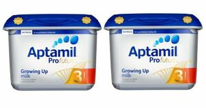 【800g 2個セット・1歳から】Aptamil Profutura 3 Growing Up milk (アプタミル プロフトゥーラ 3) 乳児用粉ミルク