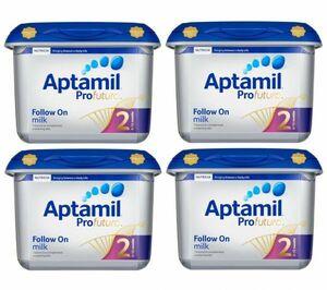 【800g 4個セット・6ヵ月から】Aptamil Profutura 2 Follow on milk (アプタミル プロフトゥーラ 2) 乳児用粉ミルク