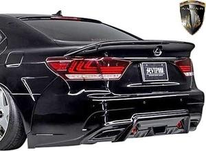 【M's】LEXUS 40LS 後期 LS460 LS600h F-SPORT (2012.10-2017.10) AIMGAIN 純VIP GT リアバンパー Type-2//FRP エイムゲイン エアロ