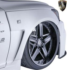 【M's】LEXUS 40LS 後期 LS460 LS600h F-SPORT(12.10-17.10) AIMGAIN 純VIP GT フロントオーバーフェンダー T1 (30mmワイド) エイムゲイン