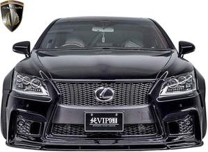 【M's】LEXUS 40 LS 後期 LS460 LS600h F-SPORT (2012.10-2017.10) AIMGAIN 純VIP GT フロントバンパー タイプ2//エイムゲイン エアロ