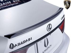 【M's】レクサス 40系 後期 LS460 LS600h F-SPORT用 (2012.10-2017.10) AIMGAIN 純VIP GT トランクスポイラー Type-GT/FRP エイムゲイン