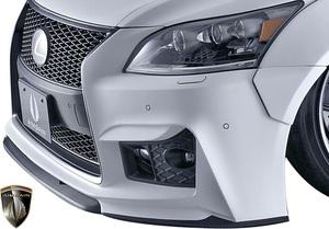 【M's】レクサス 後期 LS460 LS600h Fスポーツ用 (2012.10-2017.10) AIMGAIN 純VIP GT フロントバンパー Type1/エイムゲイン エアロ GT1
