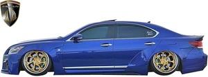 【M's】レクサス 40系 後期 LS460 LS600h F-SPORT (2012.10-2017.10) AIMGAIN 純VIP GT サイドステップ Type-2//エイムゲイン エアロ