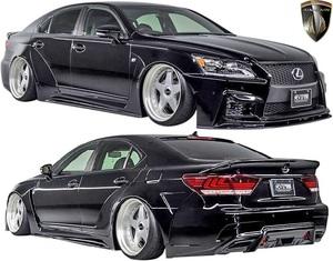 【M's】レクサス 後期 40LS LS460 LS600h F-SPORT用 (2012.10-2017.10) AIMGAIN 純VIP GT タイプ2 ワイドボディーキット 8点 エイムゲイン