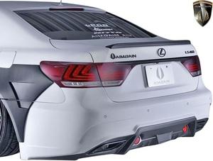 【M's】レクサス 40系 後期 LS460 LS600h F-SPORT用 (2012.10-2017.10) AIMGAIN 純VIP GT リアバンパー Type-1//エイムゲイン エアロ