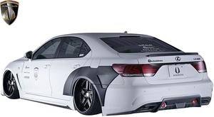 【M's】レクサス 40LS 後期 LS460 LS600h Fスポーツ用 (2012.10-2017.10) AIMGAIN 純VIP GT リヤバンパー タイプ1//エイムゲイン エアロ