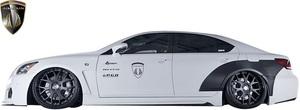 【M's】レクサス 40系 後期 LS460 LS600h F-SPORT用 (2012.10-2017.10) AIMGAIN 純VIP GT サイドステップ Type-1//エイムゲイン エアロ