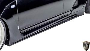 【M's】レクサス 後期 40LS LS460 LS600h F-SPORT (2012.10-2017.10) AIMGAIN 純VIP GT サイドステップ タイプ2//エイムゲイン エアロ
