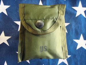 F648B★米軍LC-1 ファーストエイド&コンパスケースDLA100-86デッドストック未使用品/アメリカ軍アリス装備/救急包帯三角巾ポーチ