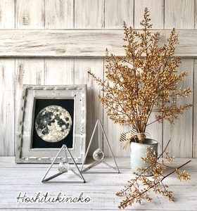 星月猫★「ナンテンの蕾のみで作ったシャビーシックなスワッグ大サイズ」おまけ小枝2本付 ドライフラワー 花束 ナンテン
