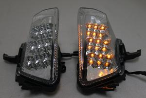Ninja1000 LEDクリアフロントウインカー 左右セット Z1000SX ニンジャ1000 フロントクリアウインカー KAWASAKI カワサキ