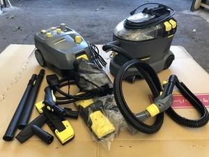 ケルヒャー 業務用 プロ用 カーペットリンスクリーナー Puzzi 8/1 C スチームクリーナー SG 4/4 シート コロナ対策 洗剤
