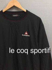 ルコック スポルティフ le coq sportif ゴルフ コレクション 2way 袖取外し可 ウィンドジャケット ウェア ブラック メンズ Mサイズ !★&