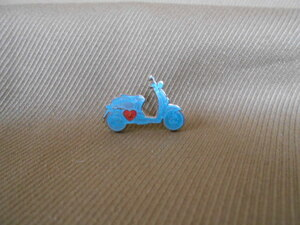 ホンダ ピンズコレクション クレア ブルー(シルバー製)