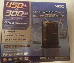 ★【中古2600円即決・送料無料】[Wi-Fi ルーター] エヌイーシー NEC Aterm PA-WR9500N-HP [n/a/b/g/対応]★