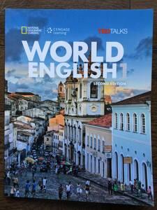 WORLD ENGLISH 1 第二版 英会話テキストとオンラインワークブック / 初級の上