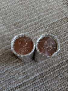 2020年東京オリンピック・パラリンピック競技大会記念貨幣・百円クラッド貨幣2種類(第一次発行分)100円 ロール