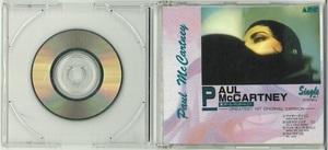 ポール・マッカートニー PAUL McCARTNEY 希少CDS (8㎝)「GREATEST HIT ORIGINAL VARSION」 M-1 R-3B0050 激安スタート!