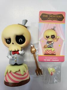 POP MART×HOW2WORK LABUBU Patisseries『Ice cream pstry』 【THE MOSTERS】