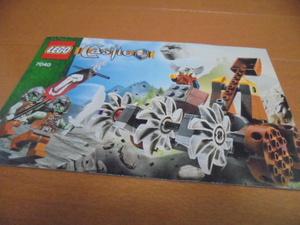 ★レゴ/LEGO キャッスル 7040 カタパルトディフェンス 組立説明書★カタログ お城シリーズ Castle
