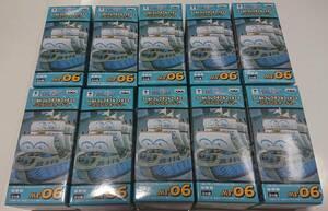 ワンピース ワールドコレクタブルフィギュア -マリンフォード1- 海軍船 10隻 バスターコール!!セット
