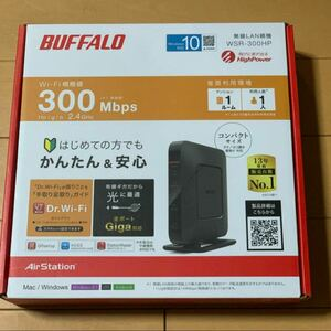 BUFFALO 無線LANルーター WSR-300HP WiFi